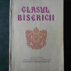 GLASUL BISERICII. ANUL XL, Nr. 1-2 IANUARIE FEBRUARIE 1981