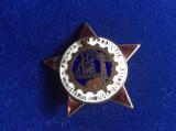 Insignă industrie - Insignă - Fruntaș în producție - Ministerul industriei grele
