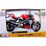 Motocicleta Maisto, Ducati Mod Streetfighter, 1:12