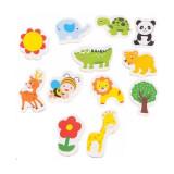 Set 12 magnetei pentru frigider Iso Trade MY17483Initiala