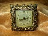 Ceas Baroc Rococo Emes, bronz, colectie, cadou, vintage
