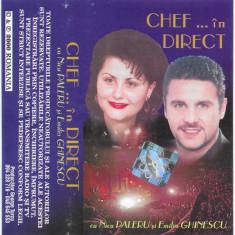 Caseta Nicu Paleru Și Emilia Ghinescu – Chef ... În Direct, originala