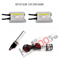 Set xenon H1 SLIM 12V 35W 4300K