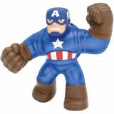 Figurina Marvel Heroes of Goo Jit Zu Captain America, Character