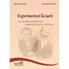 Experimentul lecturii - Mirela SAVIN, Nastasia SAVIN