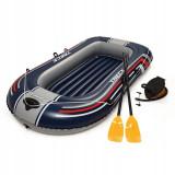 Barca Gonflabila Hydro-Force Treck X1, vasle + pompa inclusa, Bestway