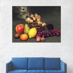 Tablou Canvas, Pictura Artistica Fructe - 20 x 25 cm