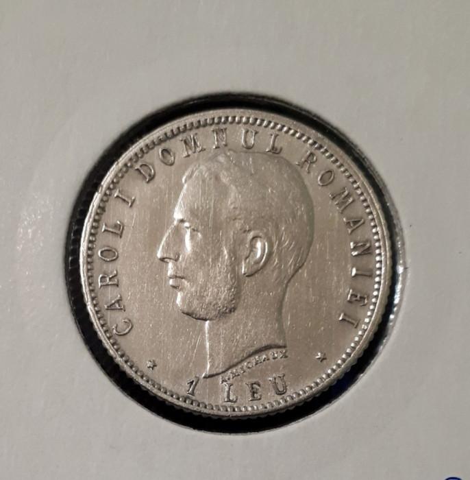 1 leu 1906 Varianta cu punct