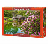 Puzzle Mill by the Pond, 500 piese, castorland