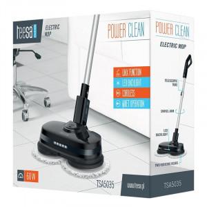 Mop electric Power Clean Teesa, 60 W, discuri rotative, maner reglabil