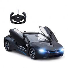 Masina cu telecomanda BMW i8 Rastar, 1:14, Negru