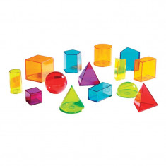 Forme geometrice colorate Learning Resources, ghid de activitati, 8 - 12 ani