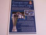 Program meci fotbal ESPANYOL BARCELONA-WERDER BREMEN (26.04.2007)