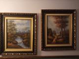 Se vinde doua tablouri , dimensiunii de 0.70 x 0.60 pictate in Spania