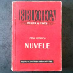 CAMIL PETRESCU - NUVELE