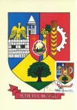 TSV - MAXIMA BUZAU - STEMA JUDETULUI HERALDICA`76 STAMPILA 1