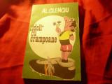 Al.Clenciu - Idoli cu crampoane - Ed.1980 Caricaturi Al.Clenciu Ed.Sport-Turism