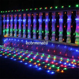Plasa Luminoasa Craciun Ext. 8x10m 1920LED Multicolor Fir Incolor 6015