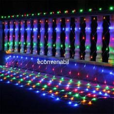 Plasa Luminoasa Craciun Exterior 3x3m 360LED Multicolor FI P 6017