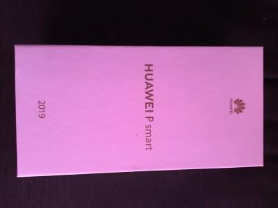Huawey P Smart 2019 full box, factura, garanție. foto