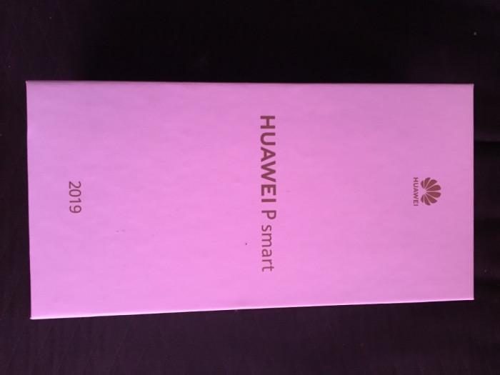 Huawey P Smart 2019 full box, factura, garanție.