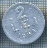 AX 734 MONEDA- ROMANIA - 2 LEI -ANUL 1951 -STAREA CARE SE VEDE