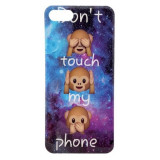 Husa iPhone 7 iPhone 8 Color Mesaj Don't Touch My Phone