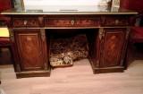 Birou antic lemn masiv palisandru Napoleon III sec.XIX, vechi, vintage, colectie