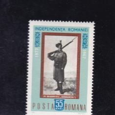 ROMANIA 1967 LP 647- 90 ANI INDEPENDENTA DE STAT A ROMANIEI   MNH