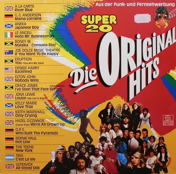 VINIL  SELECTII   Various – Super 20 Die Original Hits  - VG+  -