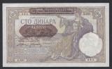 A5797 Serbia 100 dinara 1941 aUNC