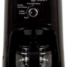 Cafetiera Heinner HCM-900RBK, 900 W, Rasnita incorporata, 0.6 L (Negru)