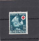 ROMANIA 1957  LP 438  SAPTAMANA  CRUCII ROSII    MNH