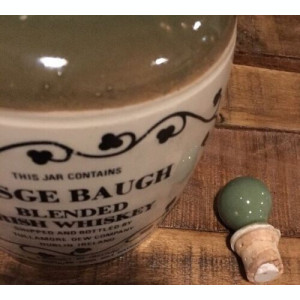 Sticlă (ceramică) Whisky Tullamore Dew (whisky irlandez)