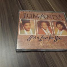 CD JOMANDA-GOT A LOVE FOR YOU ORIGINAL GIANT RECORDS