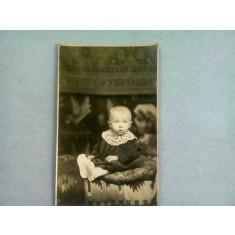FOTOGRAFIE TIP CARTE POSTALA, COPIL MIC, ANII '20