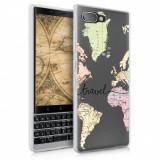Husa pentru Blackberry Key2, Silicon, Multicolor, 46465.04