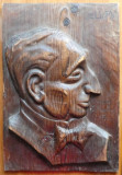 Sculptura in lemn de Ioan Sarghie , Dr. Lupu , 1932