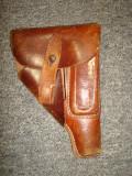 Toc de pistol militar german/piele/WW2/colectie/decor/Walther PPK/ 3 Reich