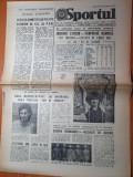Sportul 11 august 1984-anisoara stanciu campioana olimpica,romania locul 2