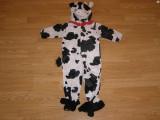 costum carnaval serbare animal vacuta pentru copii de 1-2 ani 18 luni