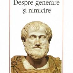 w0a Aristotel - Despre generare si nimicire