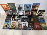 LOT 25 filme BluRay 2D si 3D STEELBOOK , cu sau fara romana,NOI, BLU RAY