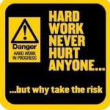 Suport pahar Hard work | Boxer