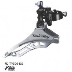 Schimbator Fata Shimano Tourney Fd-Ty300, Triplu, Sis, Tragere De Sus, Colier 34PB Cod:EFDTY300DSTL6