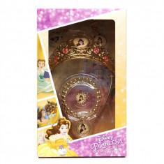 Set accesorii Disney Princess, Belle, diadema si bijuterii