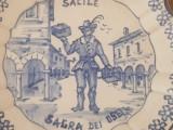 Farfurie ANTICA faianta portelan pictata manual SACILE