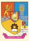 România, LP 928/1976, Stemele judeţelor (A-D), (uzuale), c.p. maximă, Dolj