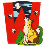 Magnet cu animale - Litera W | Bigjigs Toys