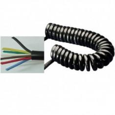 Cablu Electric Spiralat 4 m lungine 7 fire